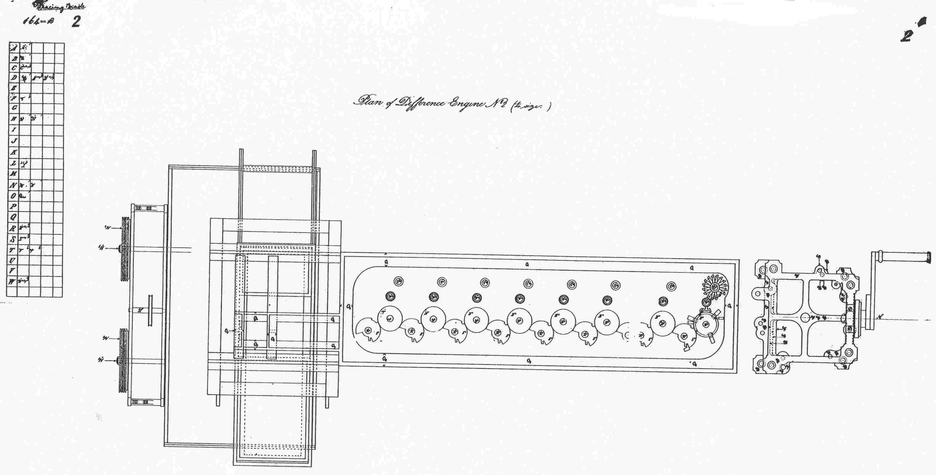 Elevation And Plan Difference : Charles babbage gallery